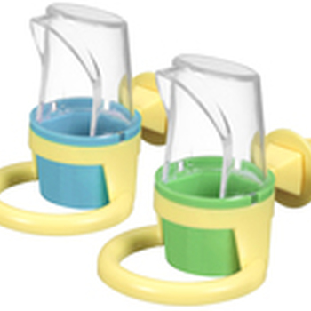 Clean Cup Feed and Water Cup Small